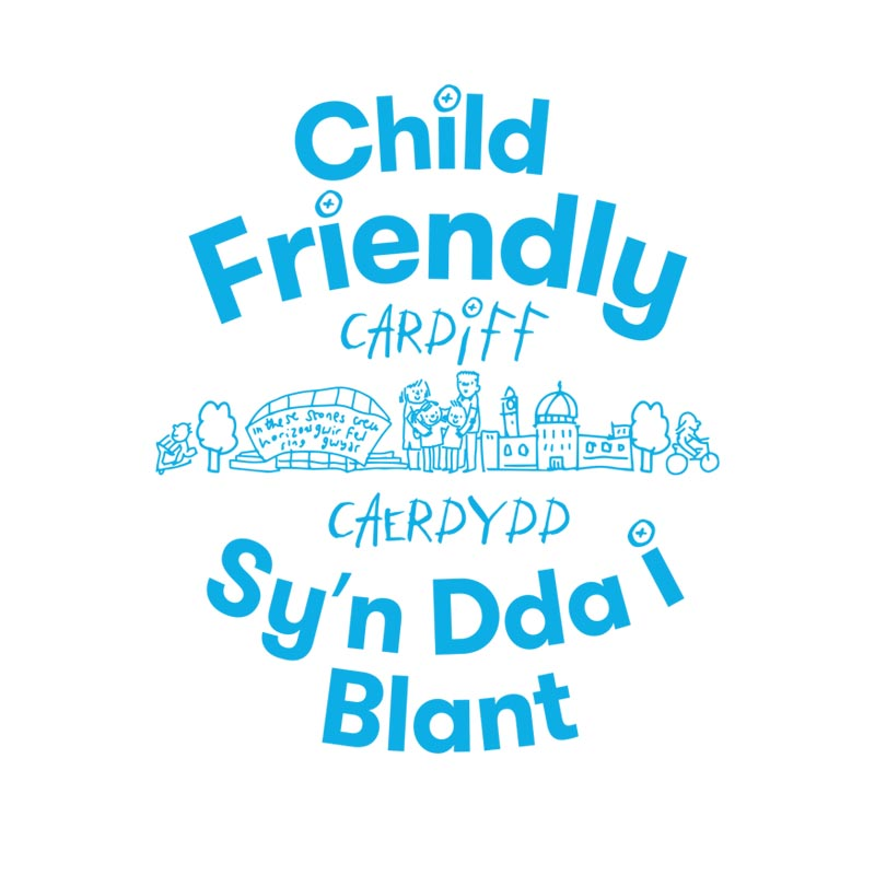 Child Friendly Cardiff logo