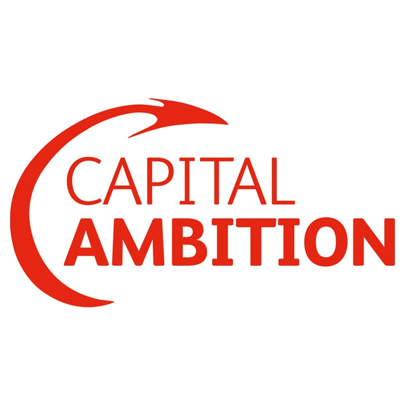 Capital Amibition logo with dragon tail